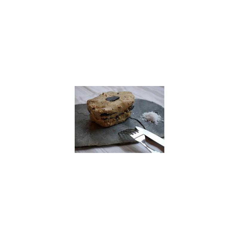 Terrine de foie gras de canard en conserve de 260g pour 6 personnes - Les Bouriettes
