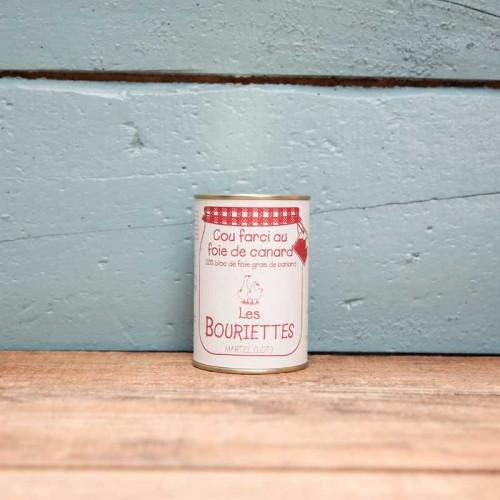 Cou farci au foie de canard 380g pour 4 personnes - Les Bouriettes