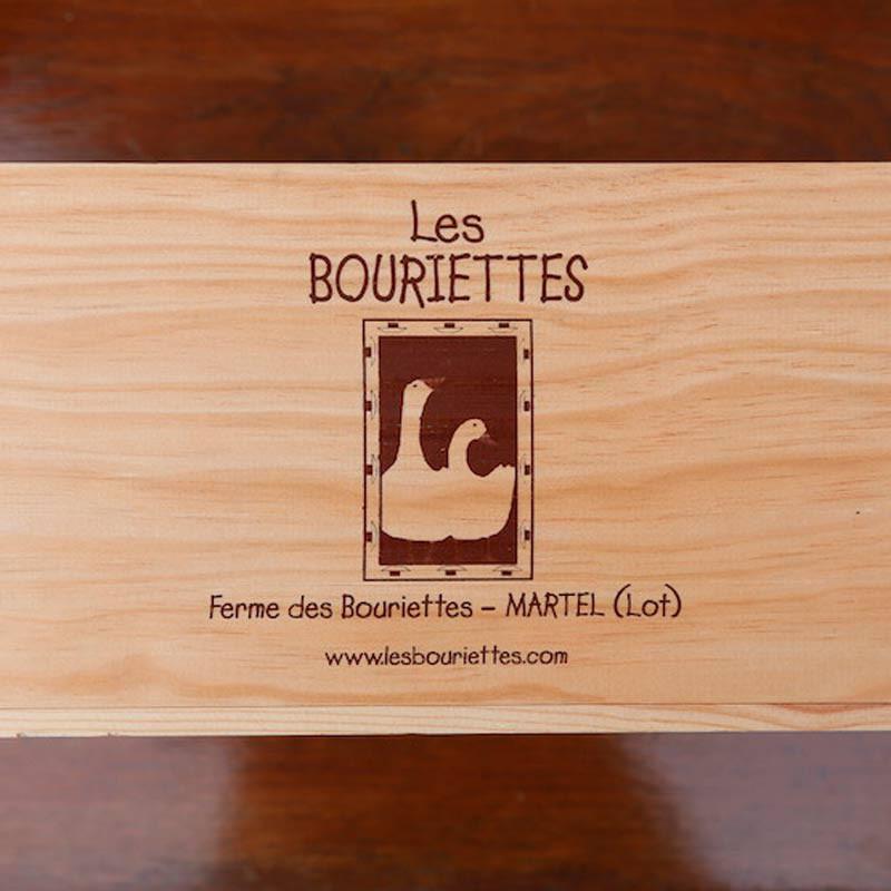 Caisse en bois vide - Coffret cadeau à composer - Les Bouriettes