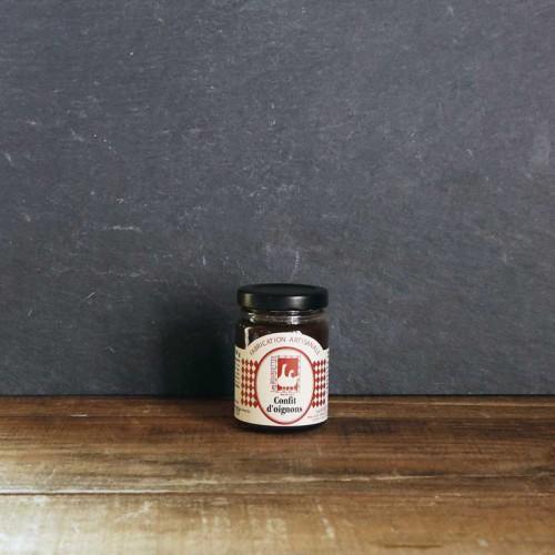 Confit d'oignon pour accompagner les foies gras et viandes froides - Les Bouriettes