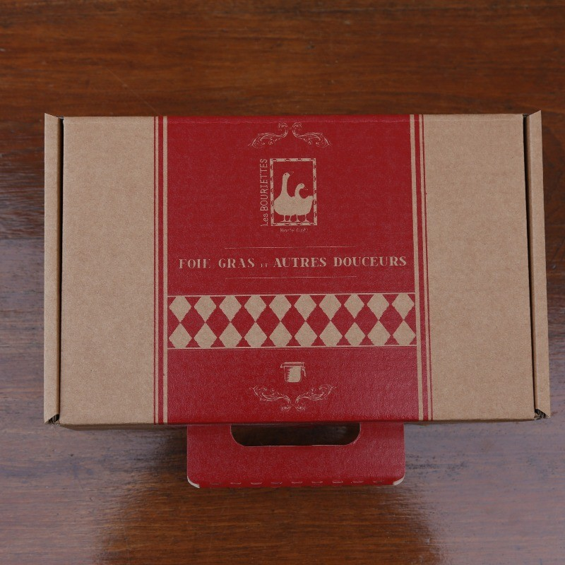 Coffret cadeau vide - malette kraft des Bouriettes