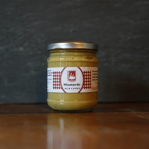 Moutarde aux cèpes Les BOURIETTES