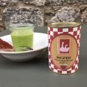 Bol d'été: Velouté de petits pois au bacon