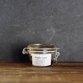 Les truffes, cèpes et sauces aux champignons